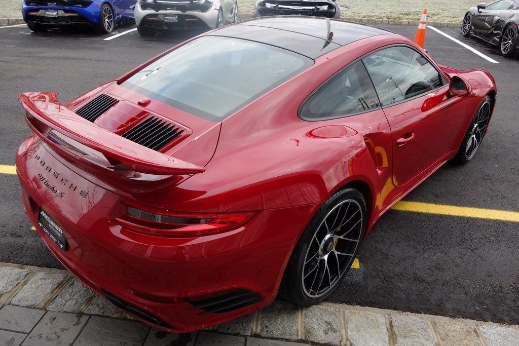 Used 2017 Porsche 911 Turbo S for sale Sold at McLaren North Jersey in Ramsey NJ 07446 7