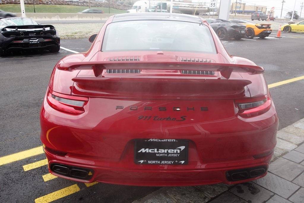 Used 2017 Porsche 911 Turbo S for sale Sold at McLaren North Jersey in Ramsey NJ 07446 8