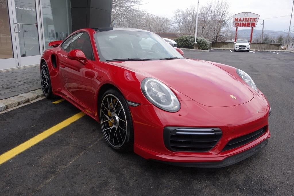 Used 2017 Porsche 911 Turbo S for sale Sold at McLaren North Jersey in Ramsey NJ 07446 1