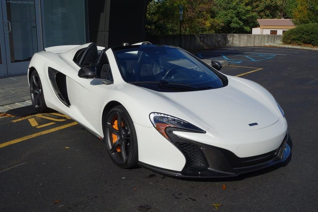 Used 2016 McLaren 650S Spider for sale $144,900 at McLaren North Jersey in Ramsey NJ 07446 1