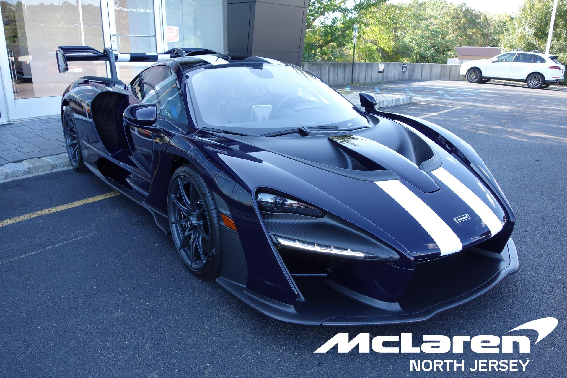 Used 2019 McLaren SENNA for sale Sold at McLaren North Jersey in Ramsey NJ 07446 1