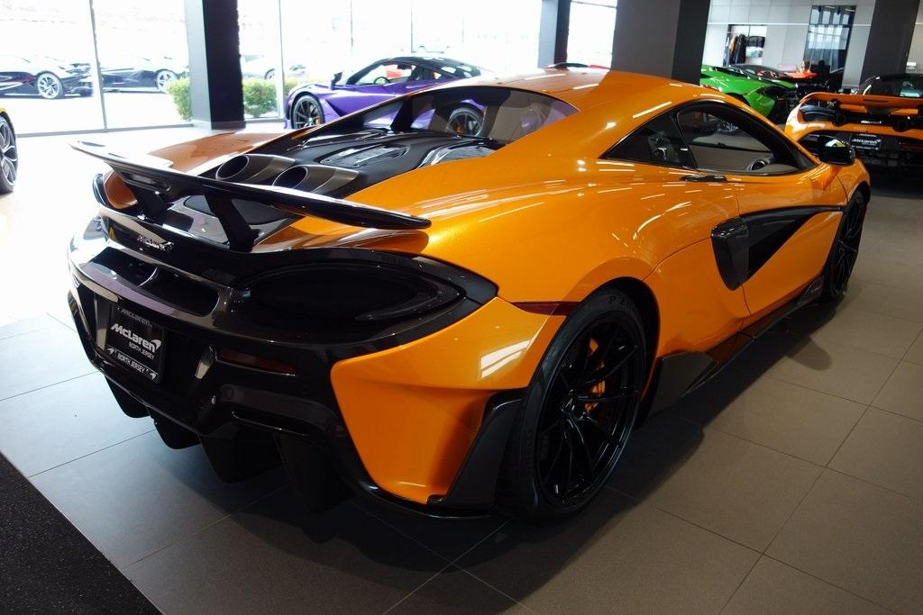 Used 2019 McLaren 600LT Coupe for sale Sold at McLaren North Jersey in Ramsey NJ 07446 7
