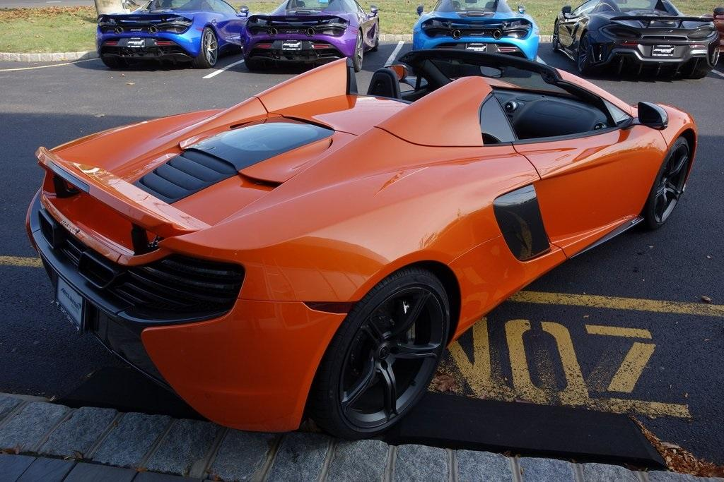 Used 2016 McLaren 650S Spider for sale Sold at McLaren North Jersey in Ramsey NJ 07446 10