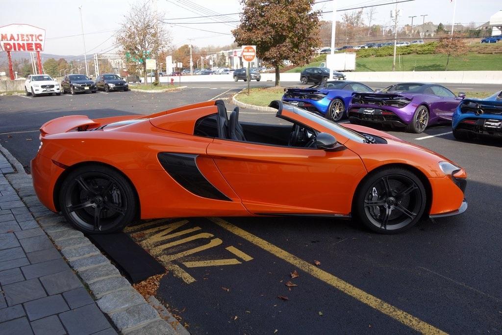 Used 2016 McLaren 650S Spider for sale Sold at McLaren North Jersey in Ramsey NJ 07446 6