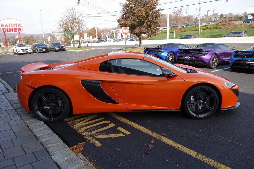 Used 2016 McLaren 650S Spider for sale Sold at McLaren North Jersey in Ramsey NJ 07446 7