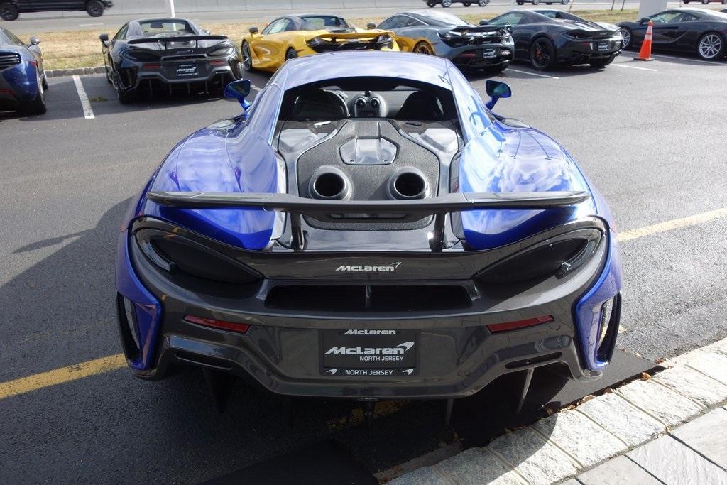 New 2019 McLaren 600LT for sale Sold at McLaren North Jersey in Ramsey NJ 07446 8