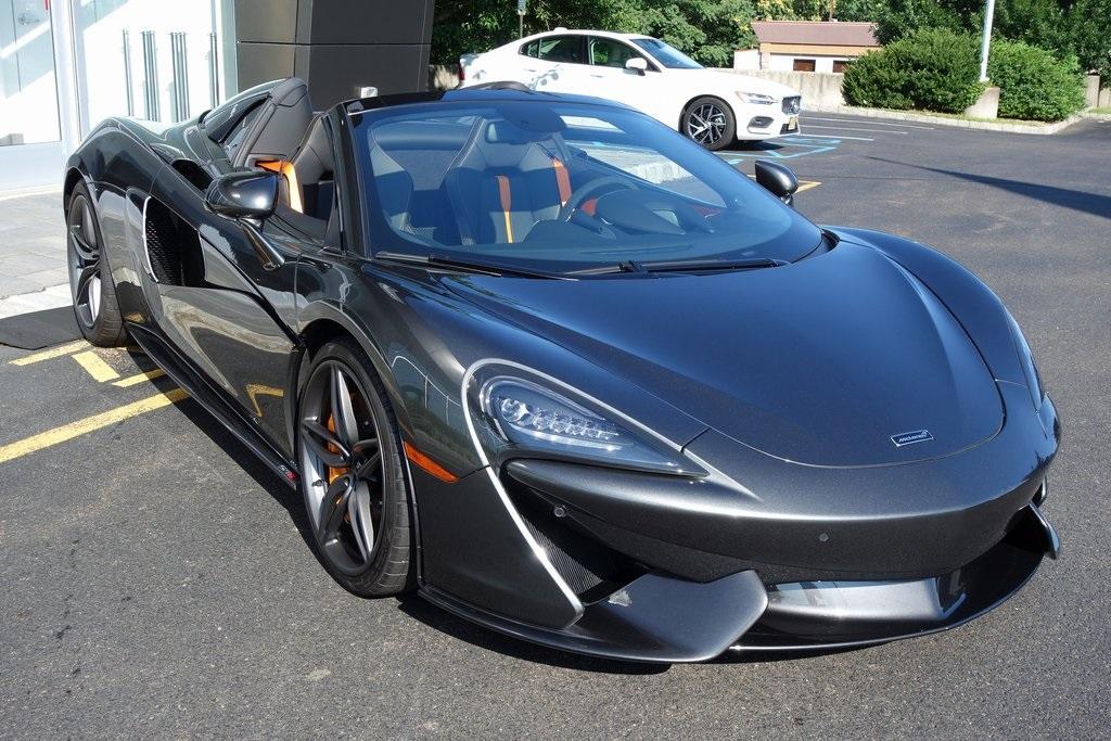 New 2019 McLaren 570S Spider for sale Sold at McLaren North Jersey in Ramsey NJ 07446 1