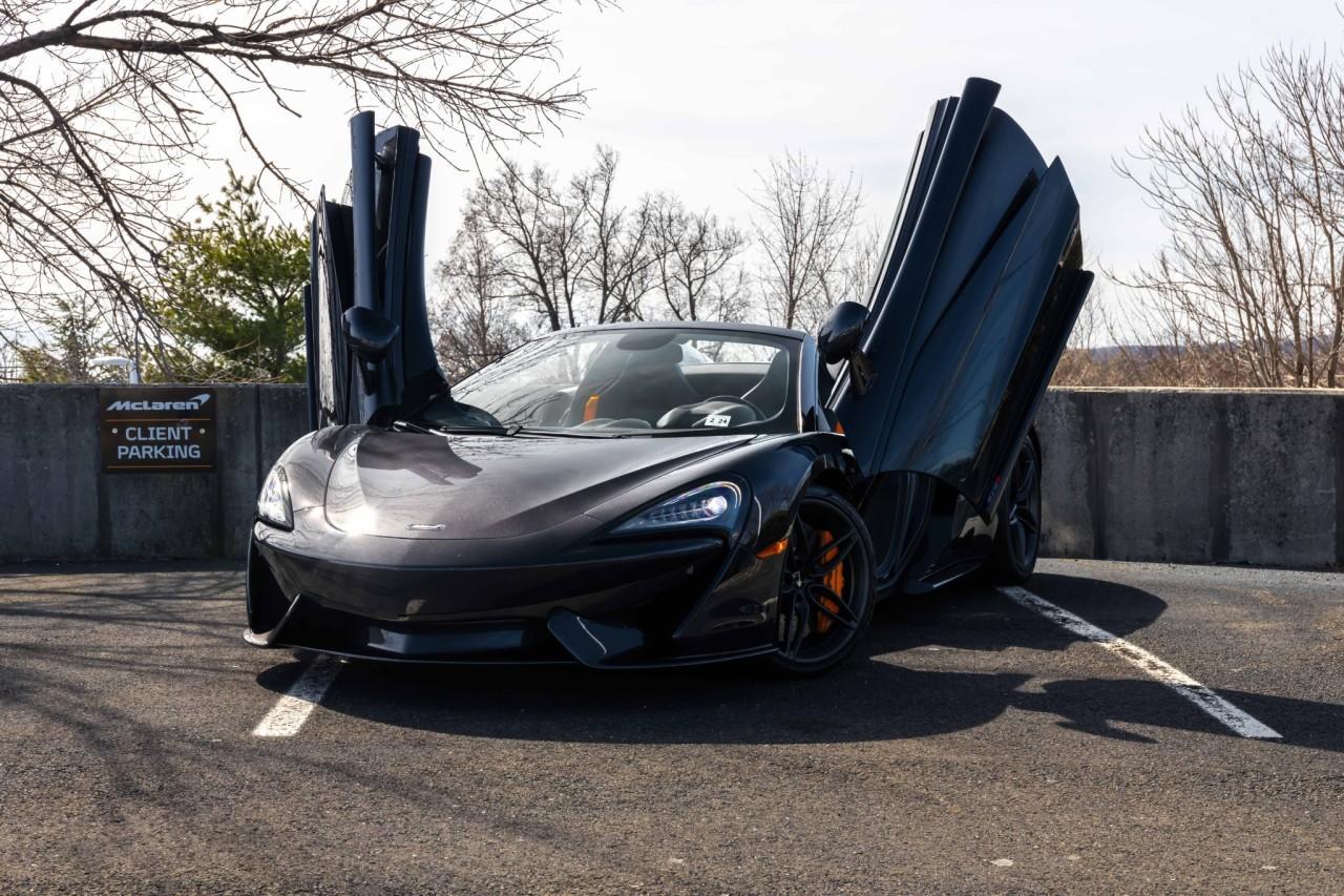 New 2019 McLaren 570S Spider for sale Sold at McLaren North Jersey in Ramsey NJ 07446 2