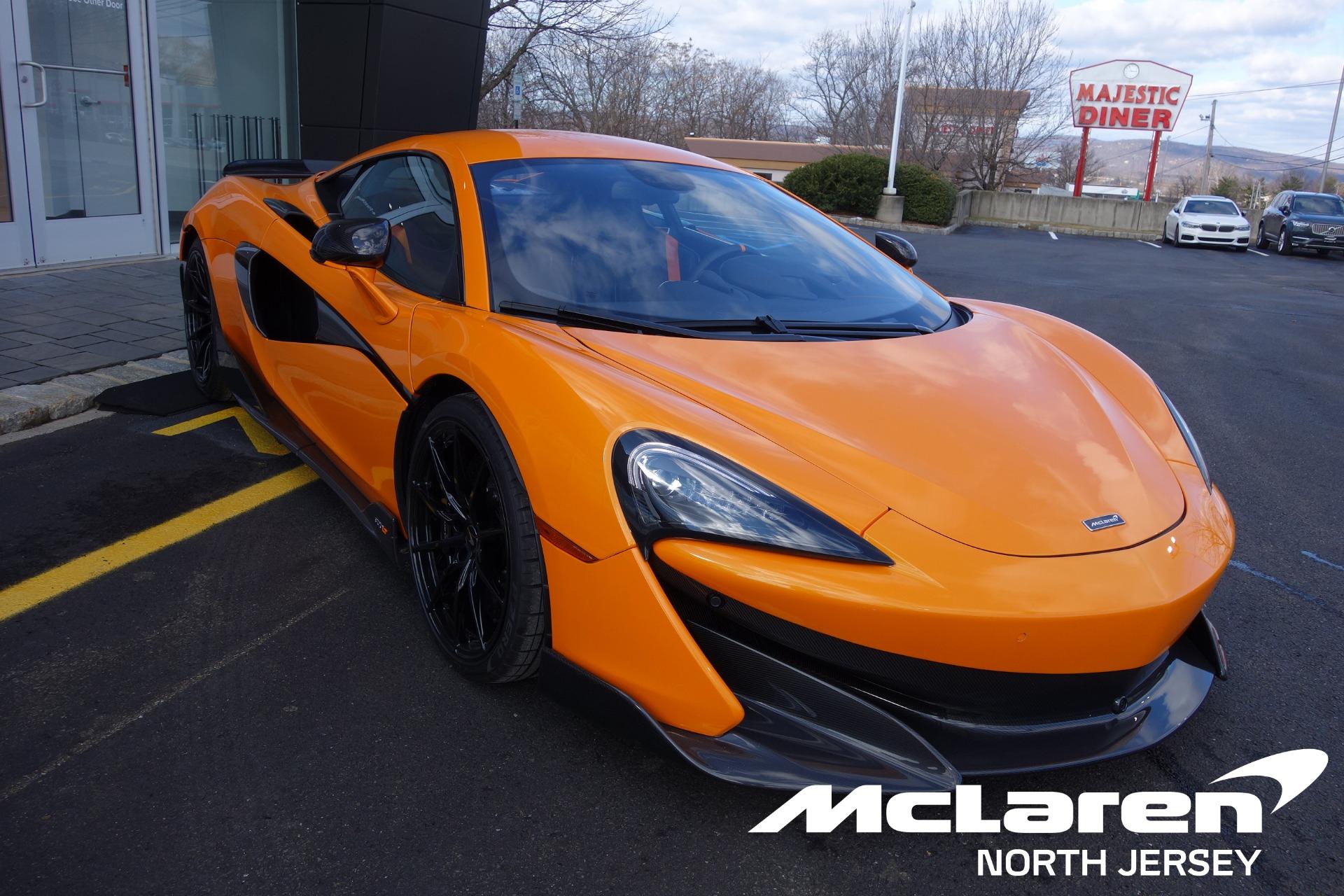 New 2019 McLaren 600LT for sale $290,420 at McLaren North Jersey in Ramsey NJ 07446 1