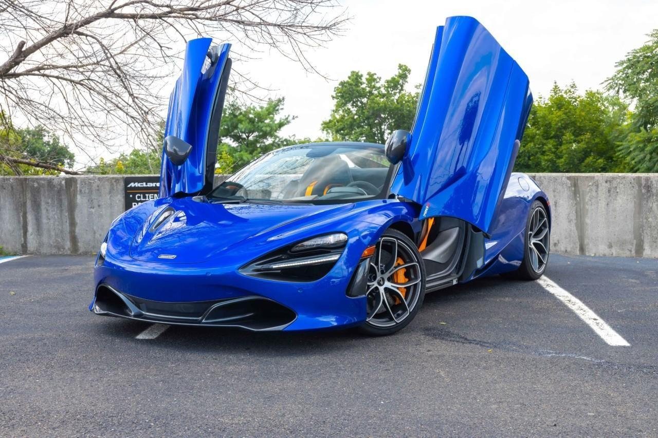 Used 2020 McLaren 720S Performance Spider for sale $356,000 at McLaren North Jersey in Ramsey NJ 07446 2