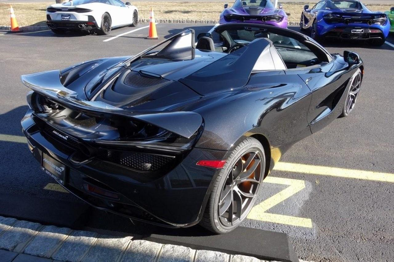 New 2020 McLaren 720S Spider Perfromance for sale $352,200 at McLaren North Jersey in Ramsey NJ 07446 10