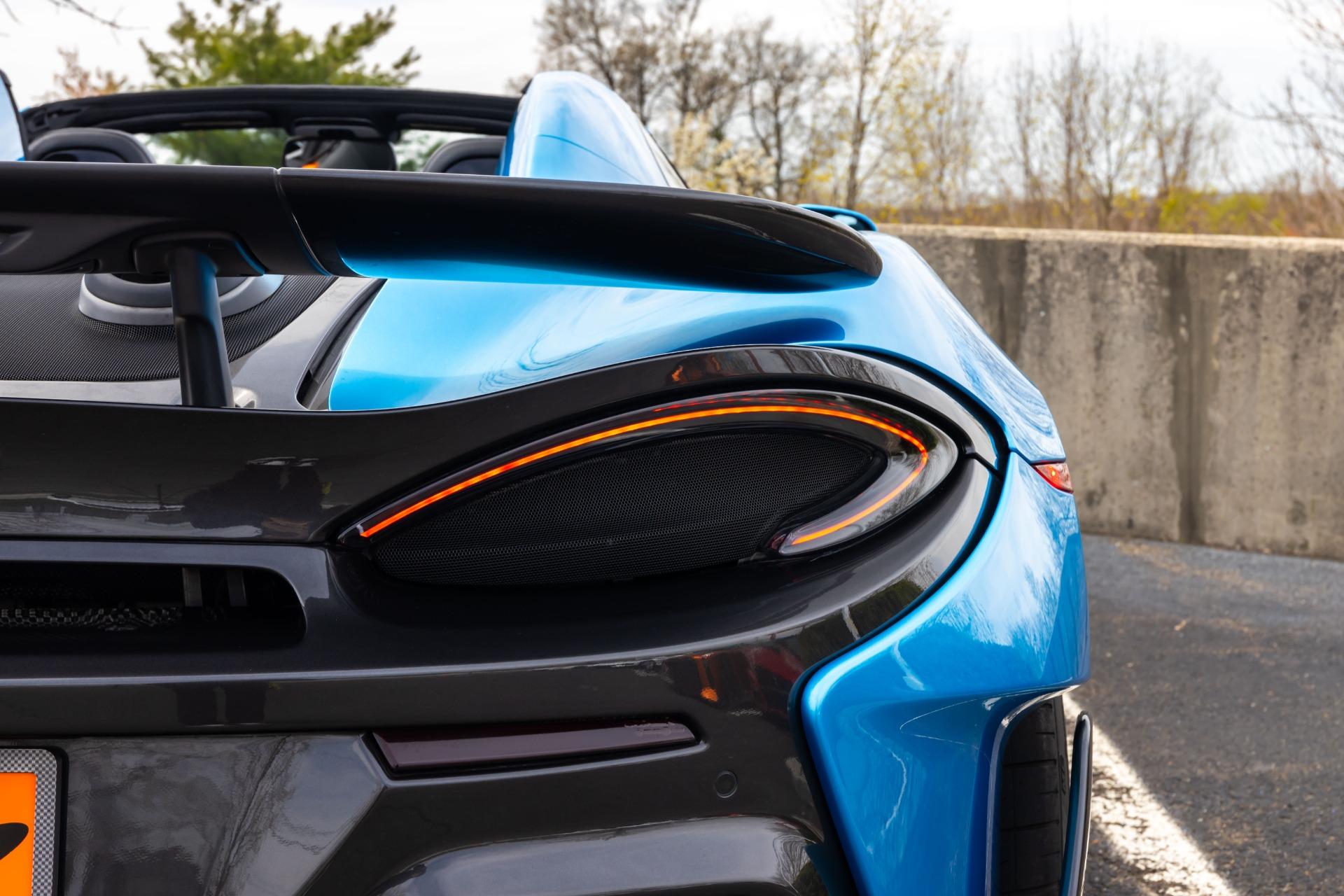 New 2020 McLaren 600LT Spider for sale Sold at McLaren North Jersey in Ramsey NJ 07446 10