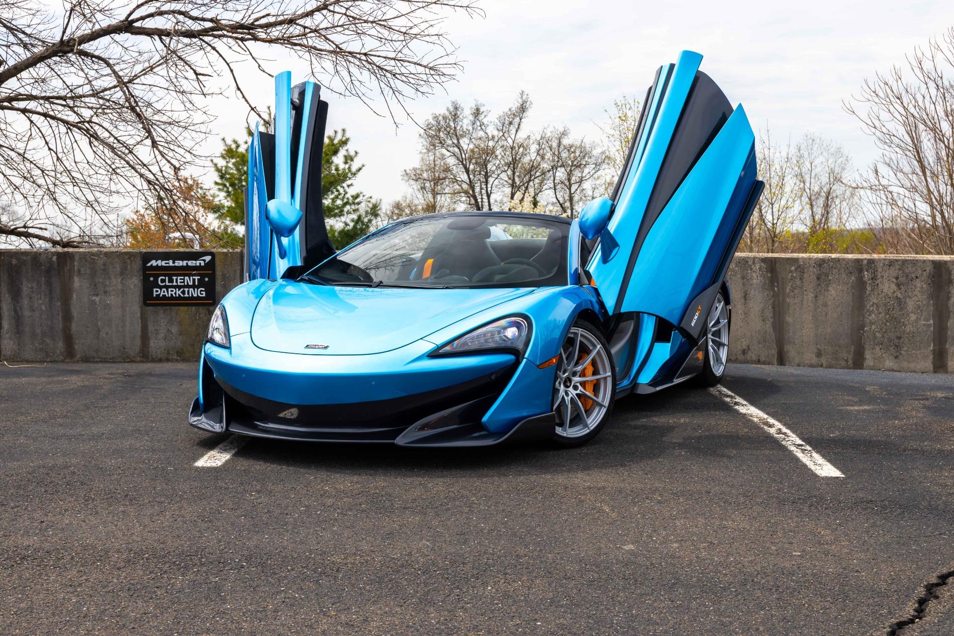 New 2020 McLaren 600LT Spider for sale Sold at McLaren North Jersey in Ramsey NJ 07446 2