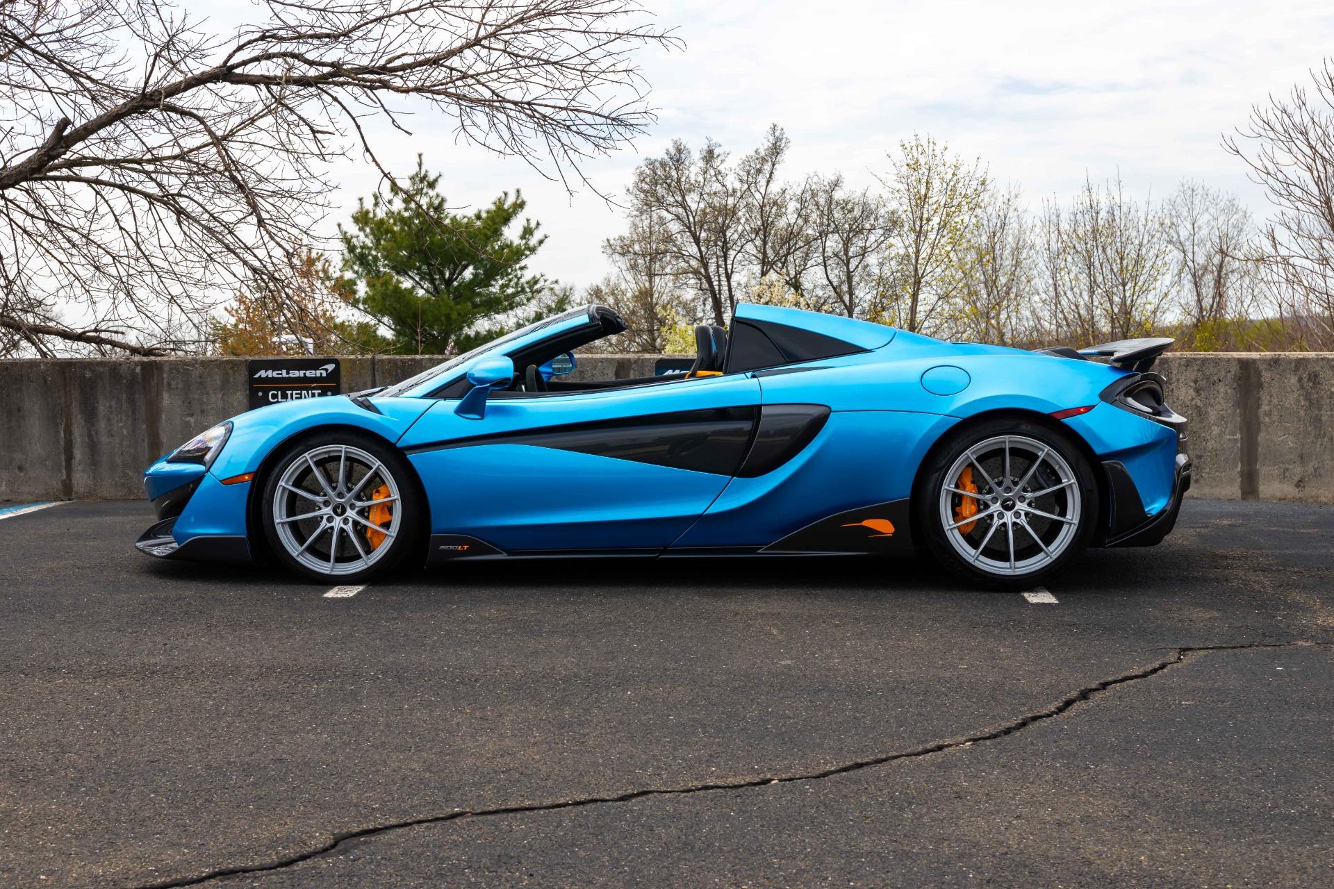 New 2020 McLaren 600LT Spider for sale Sold at McLaren North Jersey in Ramsey NJ 07446 3