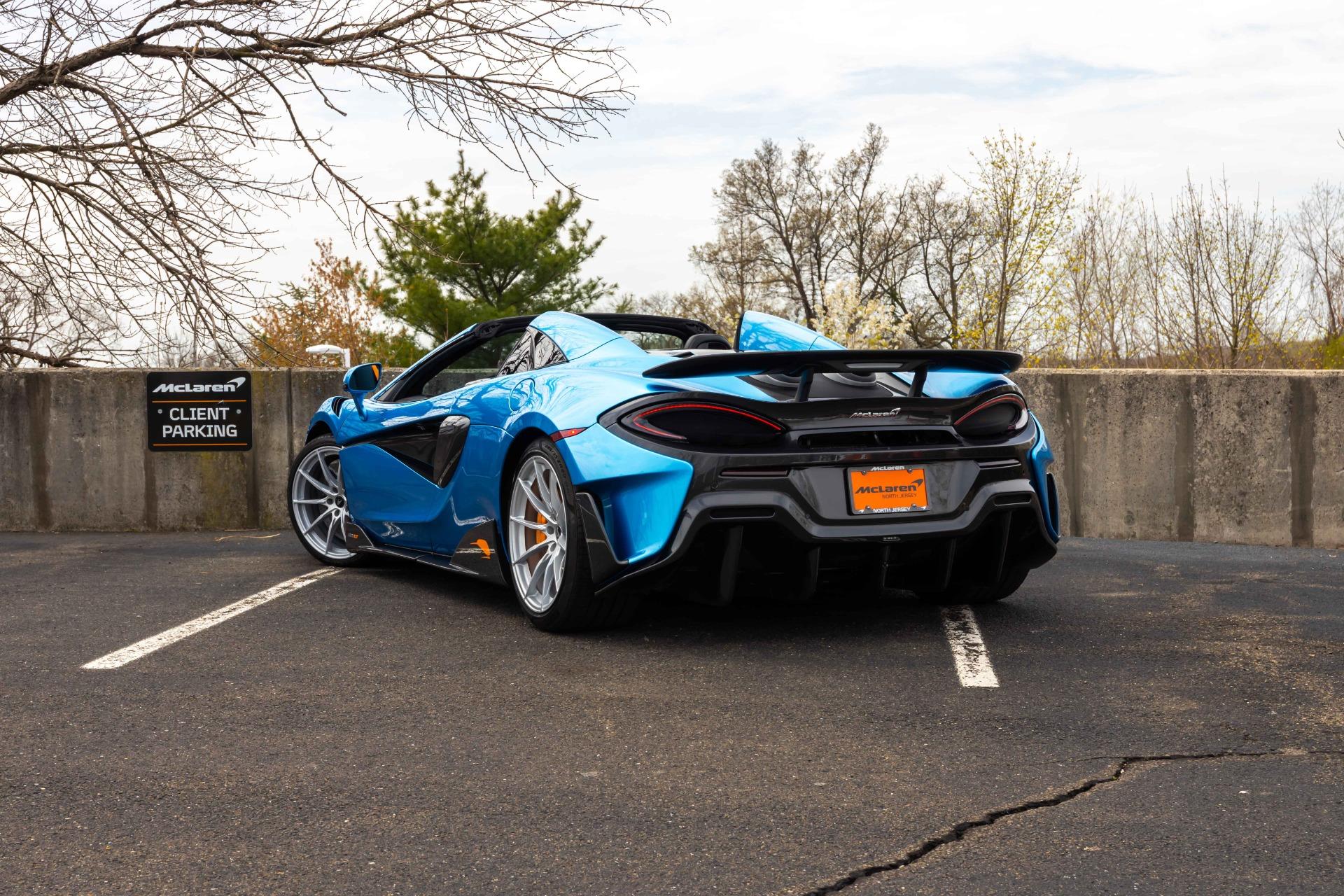 New 2020 McLaren 600LT Spider for sale Sold at McLaren North Jersey in Ramsey NJ 07446 5