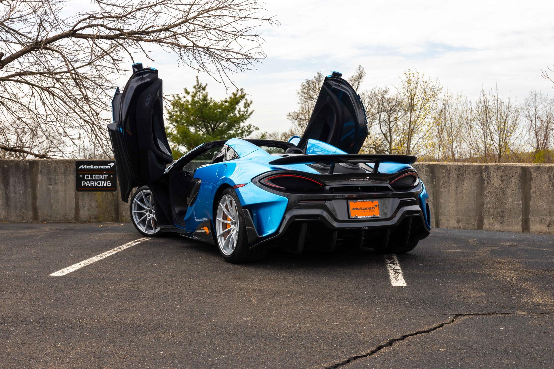 New 2020 McLaren 600LT Spider for sale Sold at McLaren North Jersey in Ramsey NJ 07446 6