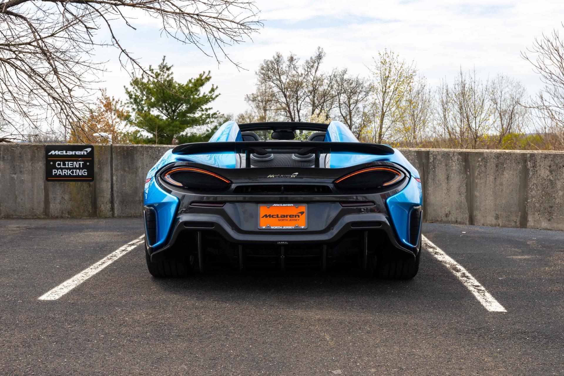 New 2020 McLaren 600LT Spider for sale Sold at McLaren North Jersey in Ramsey NJ 07446 7