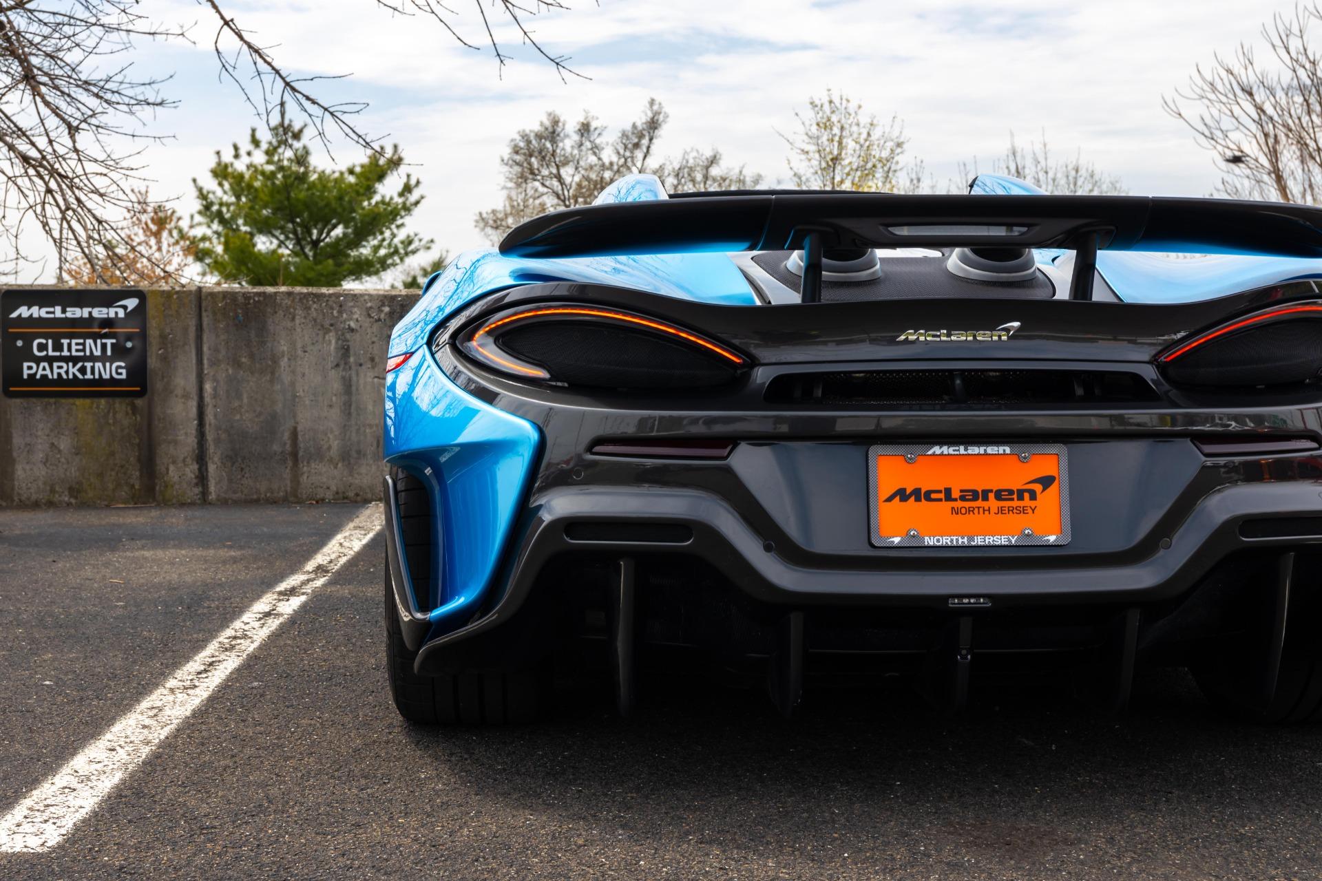 New 2020 McLaren 600LT Spider for sale Sold at McLaren North Jersey in Ramsey NJ 07446 9