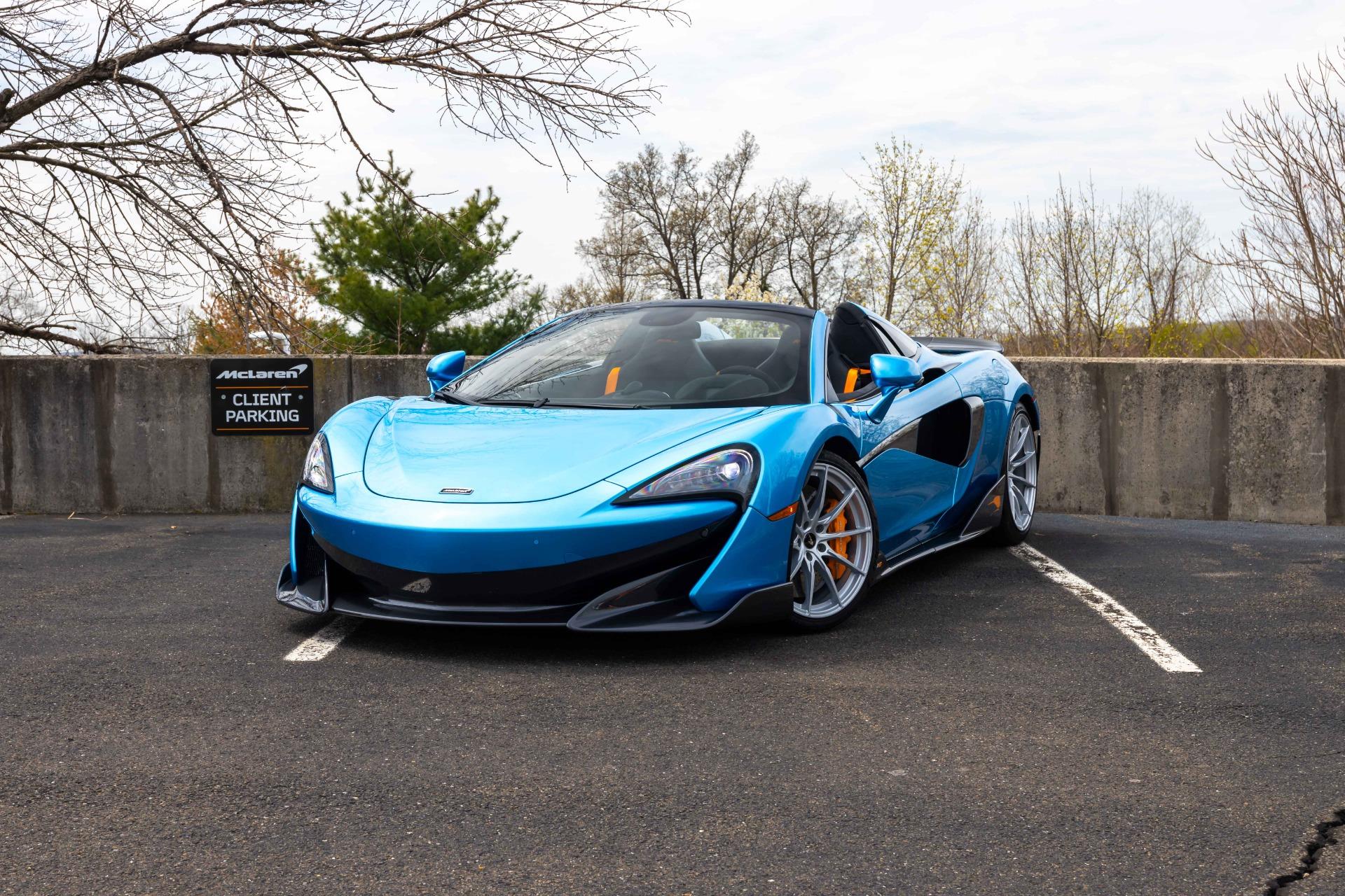 New 2020 McLaren 600LT Spider for sale Sold at McLaren North Jersey in Ramsey NJ 07446 1