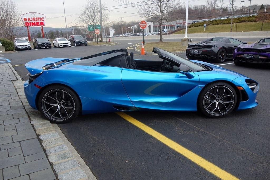 New 2020 McLaren 720S Spider for sale $382,420 at McLaren North Jersey in Ramsey NJ 07446 6