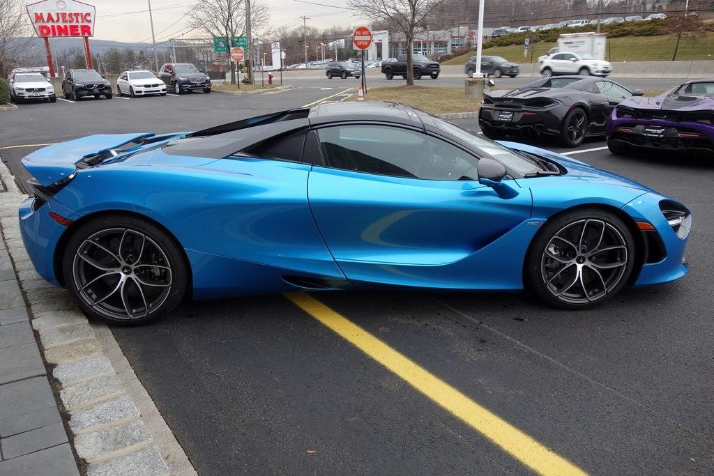 New 2020 McLaren 720S Spider for sale $382,420 at McLaren North Jersey in Ramsey NJ 07446 7