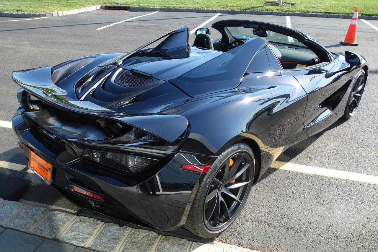 New 2020 McLaren 720S Performance Spider for sale $383,500 at McLaren North Jersey in Ramsey NJ 07446 10