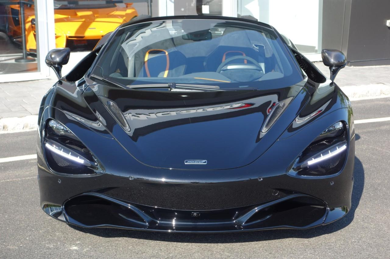 New 2020 McLaren 720S Performance Spider for sale $383,500 at McLaren North Jersey in Ramsey NJ 07446 3