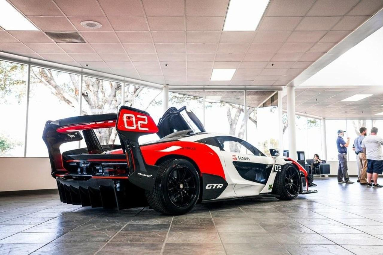 Used 2020 McLaren SENNA GTR for sale Call for price at McLaren North Jersey in Ramsey NJ 07446 7
