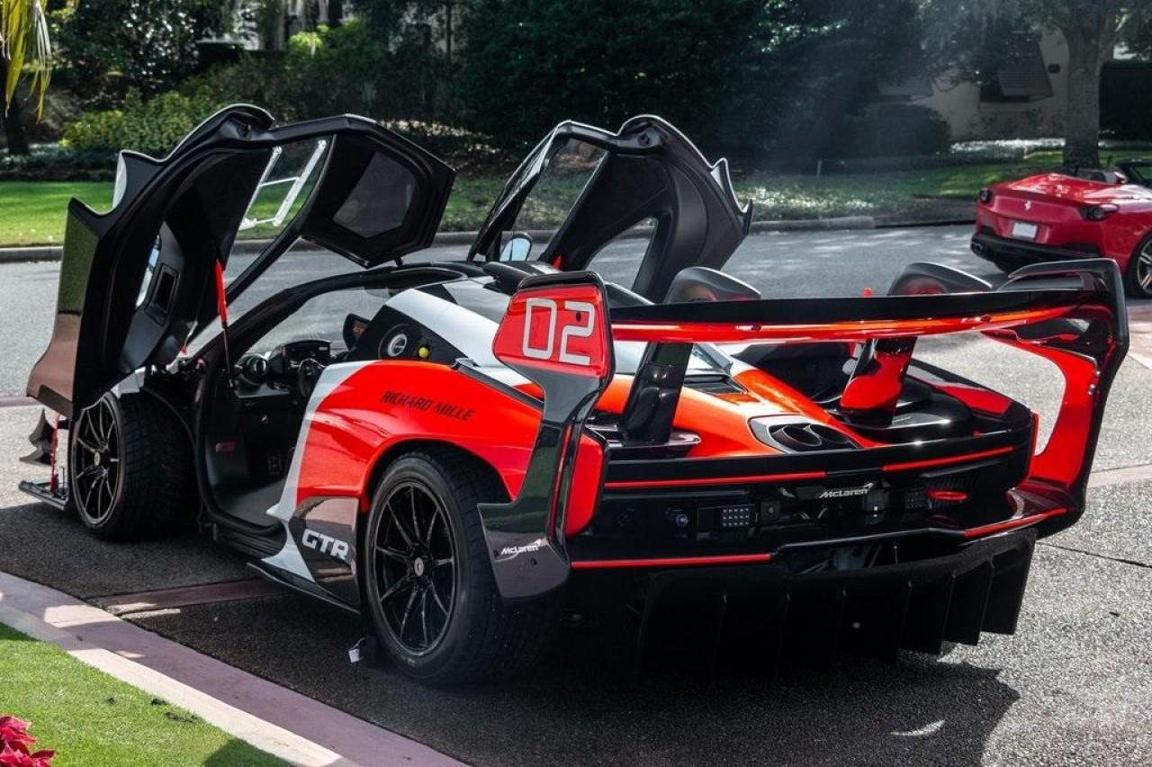 Used 2020 McLaren SENNA GTR for sale Call for price at McLaren North Jersey in Ramsey NJ 07446 8