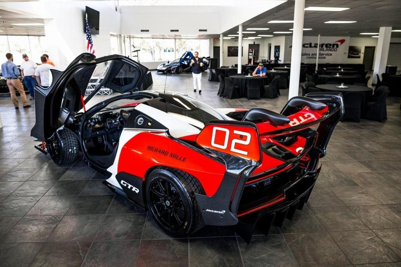 Used 2020 McLaren Senna GTR Coupe for sale Call for price at McLaren North Jersey in Ramsey NJ 07446 9