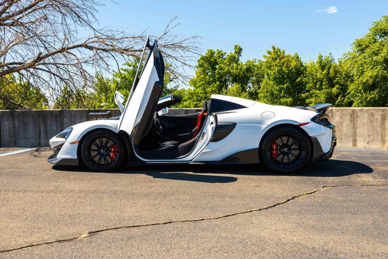 New 2020 McLaren 600LT Spider for sale Sold at McLaren North Jersey in Ramsey NJ 07446 4
