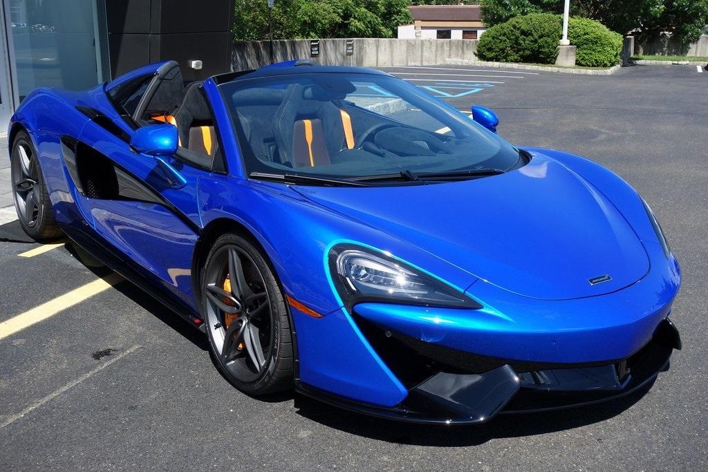 New 2020 McLaren 570S Spider for sale $233,860 at McLaren North Jersey in Ramsey NJ 07446 1