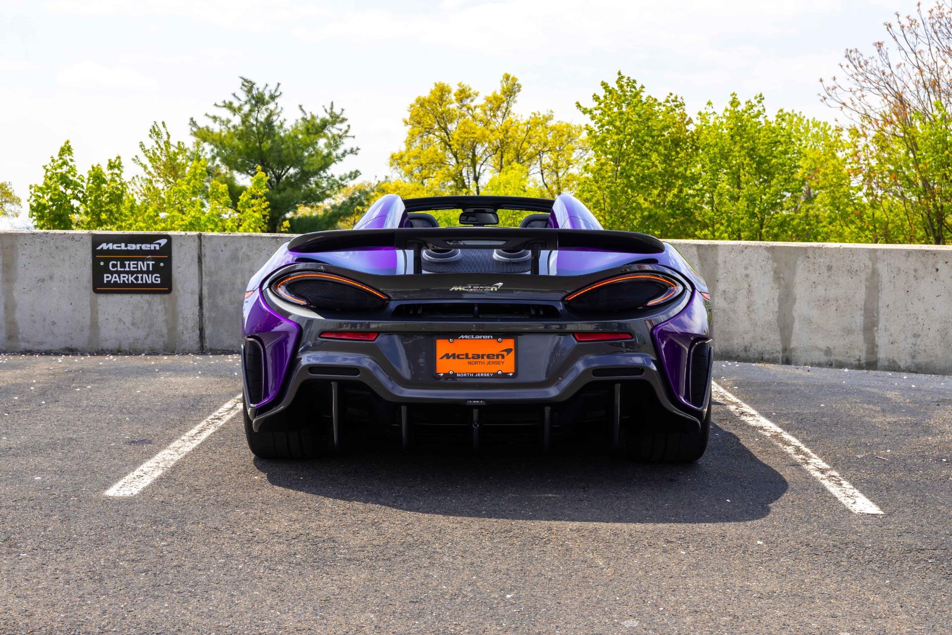 New 2020 McLaren 600LT Spider for sale $300,280 at McLaren North Jersey in Ramsey NJ 07446 10