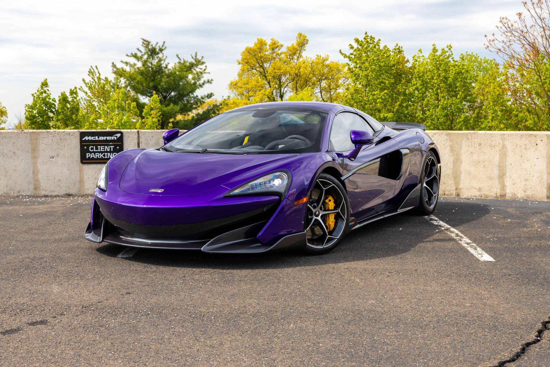 New 2020 McLaren 600LT Spider for sale $300,280 at McLaren North Jersey in Ramsey NJ 07446 2
