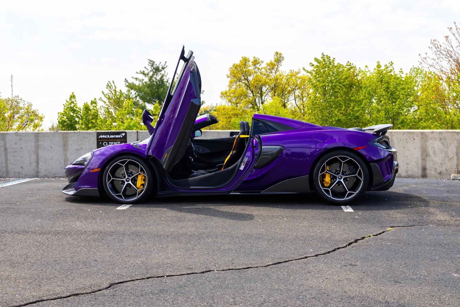 New 2020 McLaren 600LT Spider for sale $300,280 at McLaren North Jersey in Ramsey NJ 07446 6