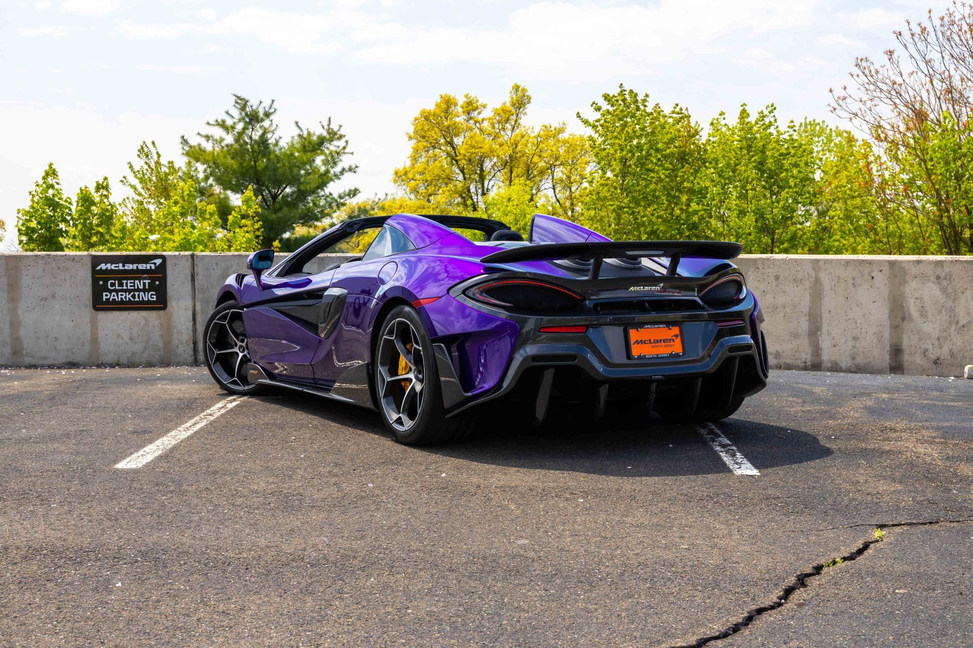 New 2020 McLaren 600LT Spider for sale $300,280 at McLaren North Jersey in Ramsey NJ 07446 7