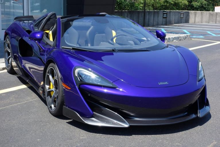 New 2020 McLaren 600LT Spider for sale $300,280 at McLaren North Jersey in Ramsey NJ