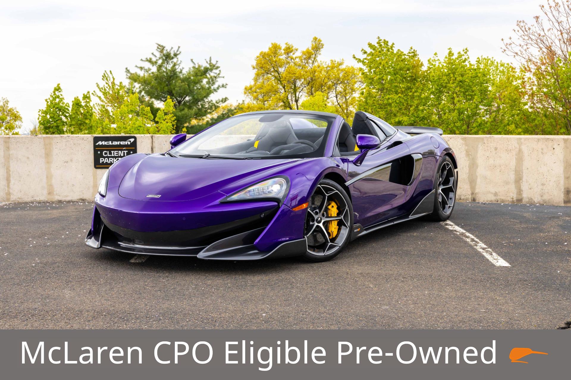 New 2020 McLaren 600LT Spider for sale $300,280 at McLaren North Jersey in Ramsey NJ 07446 1