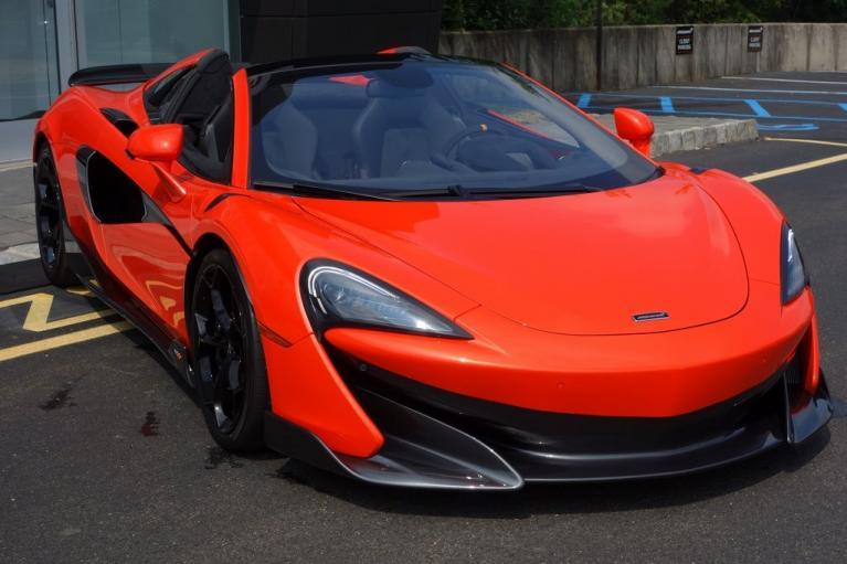 New 2020 McLaren 600LT Spider for sale $302,000 at McLaren North Jersey in Ramsey NJ