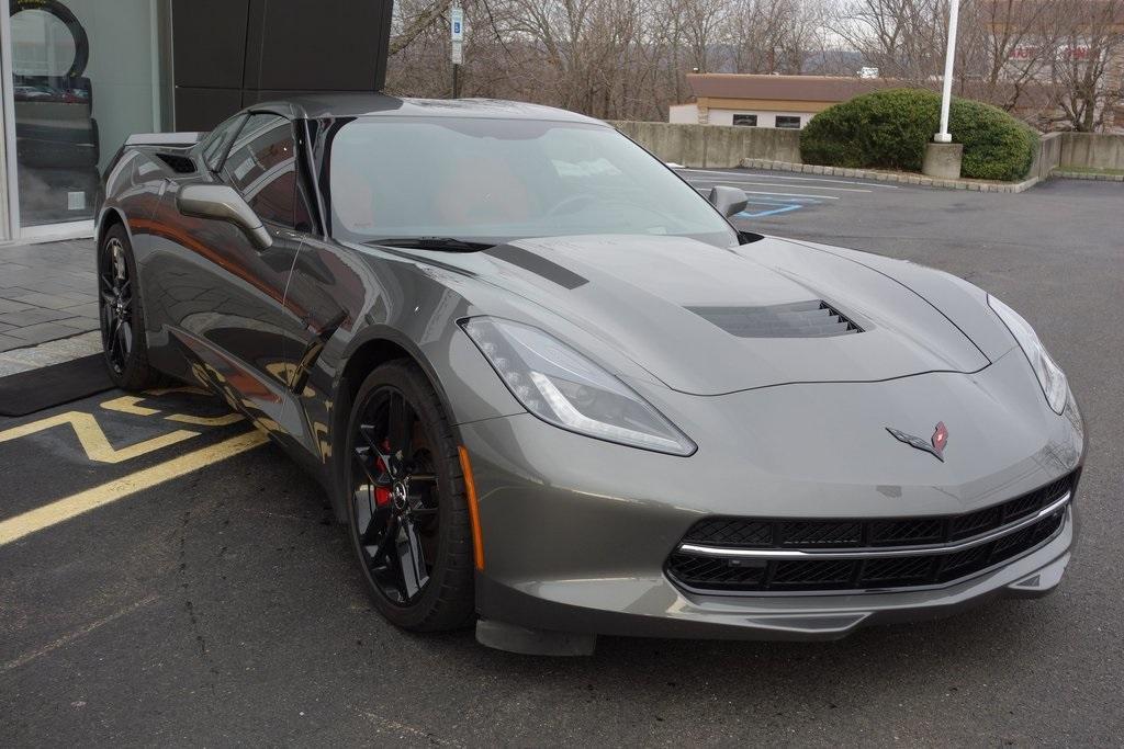 Used 2015 Chevrolet Corvette Stingray Z51 for sale Sold at McLaren North Jersey in Ramsey NJ 07446 1