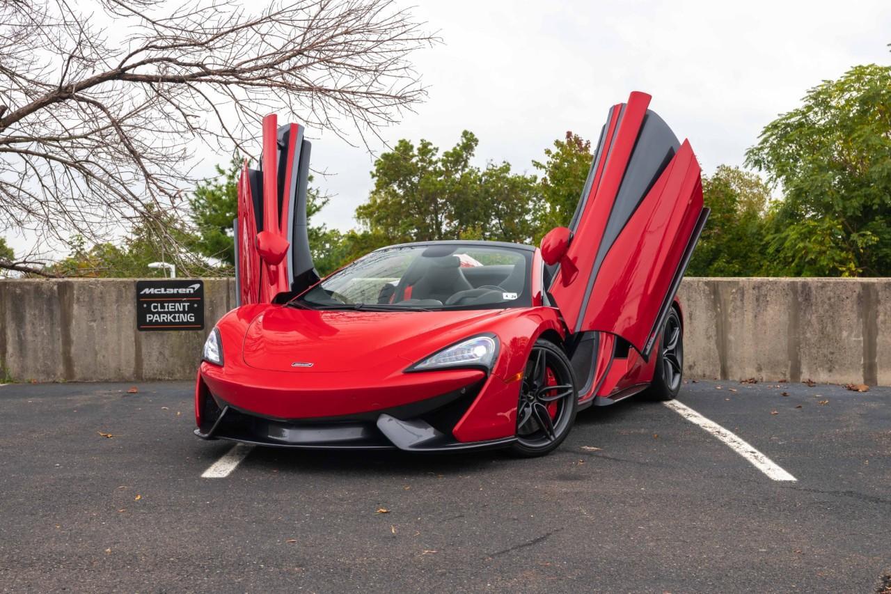 Used 2019 McLaren 570S Spider for sale $178,900 at McLaren North Jersey in Ramsey NJ 07446 2