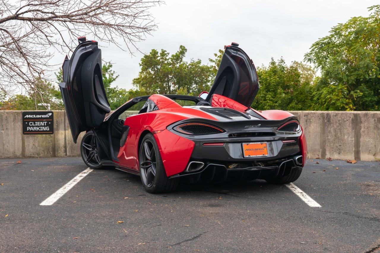 Used 2019 McLaren 570S Spider for sale $178,900 at McLaren North Jersey in Ramsey NJ 07446 6