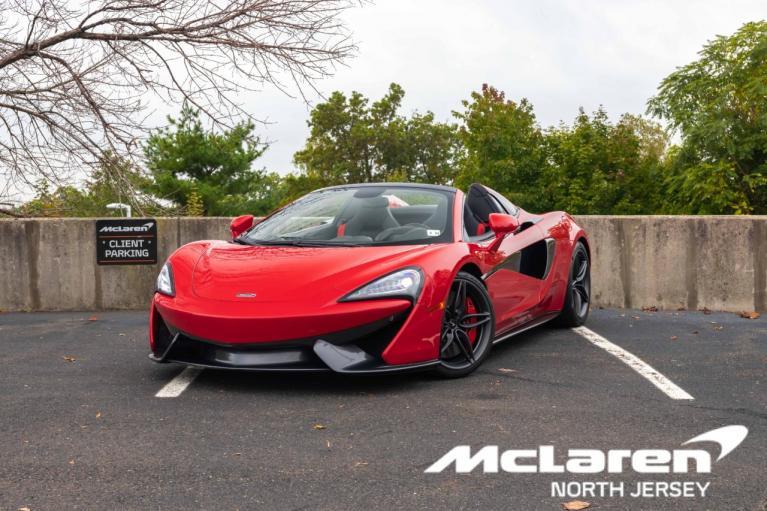 Used 2019 McLaren 570S Spider for sale $180,000 at McLaren North Jersey in Ramsey NJ