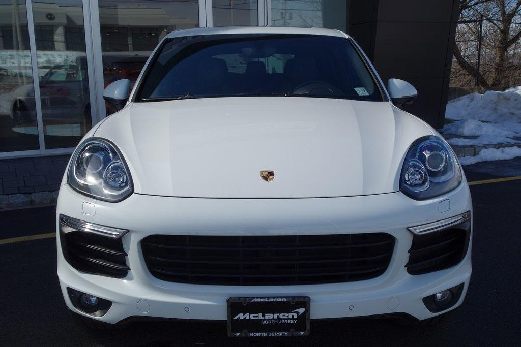 Used 2017 Porsche Cayenne Platinum Edition for sale $47,000 at McLaren North Jersey in Ramsey NJ 07446 2
