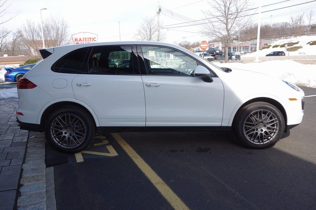 Used 2017 Porsche Cayenne Platinum Edition for sale $47,000 at McLaren North Jersey in Ramsey NJ 07446 4