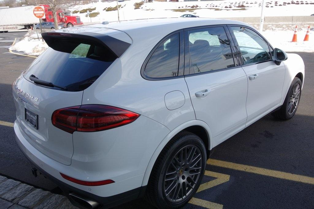 Used 2017 Porsche Cayenne Platinum Edition for sale $47,000 at McLaren North Jersey in Ramsey NJ 07446 7
