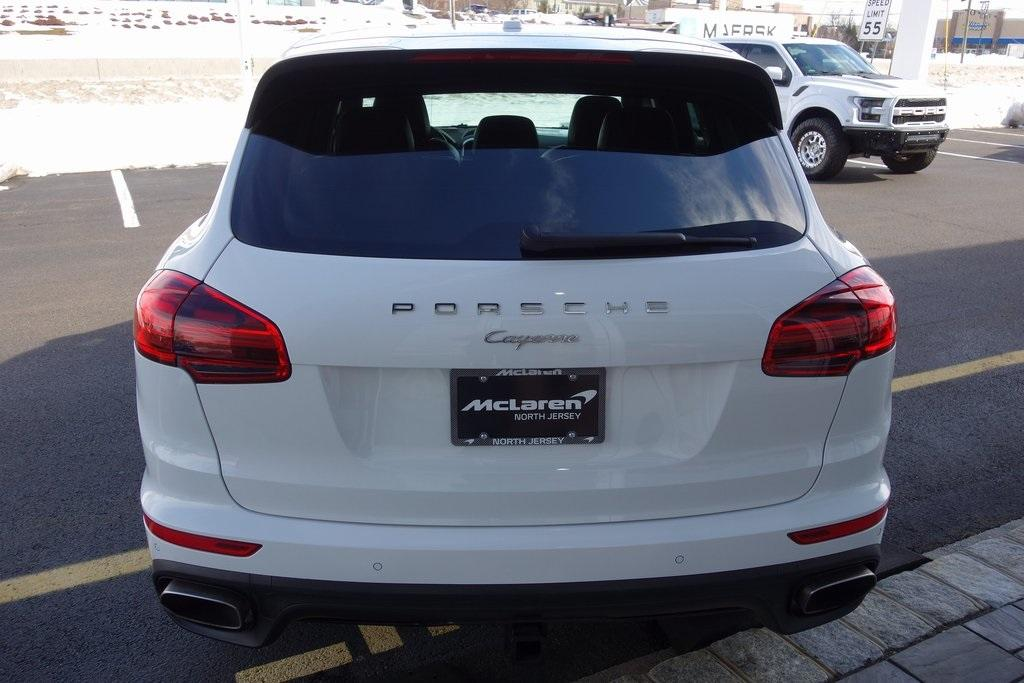 Used 2017 Porsche Cayenne Platinum Edition for sale $47,000 at McLaren North Jersey in Ramsey NJ 07446 8