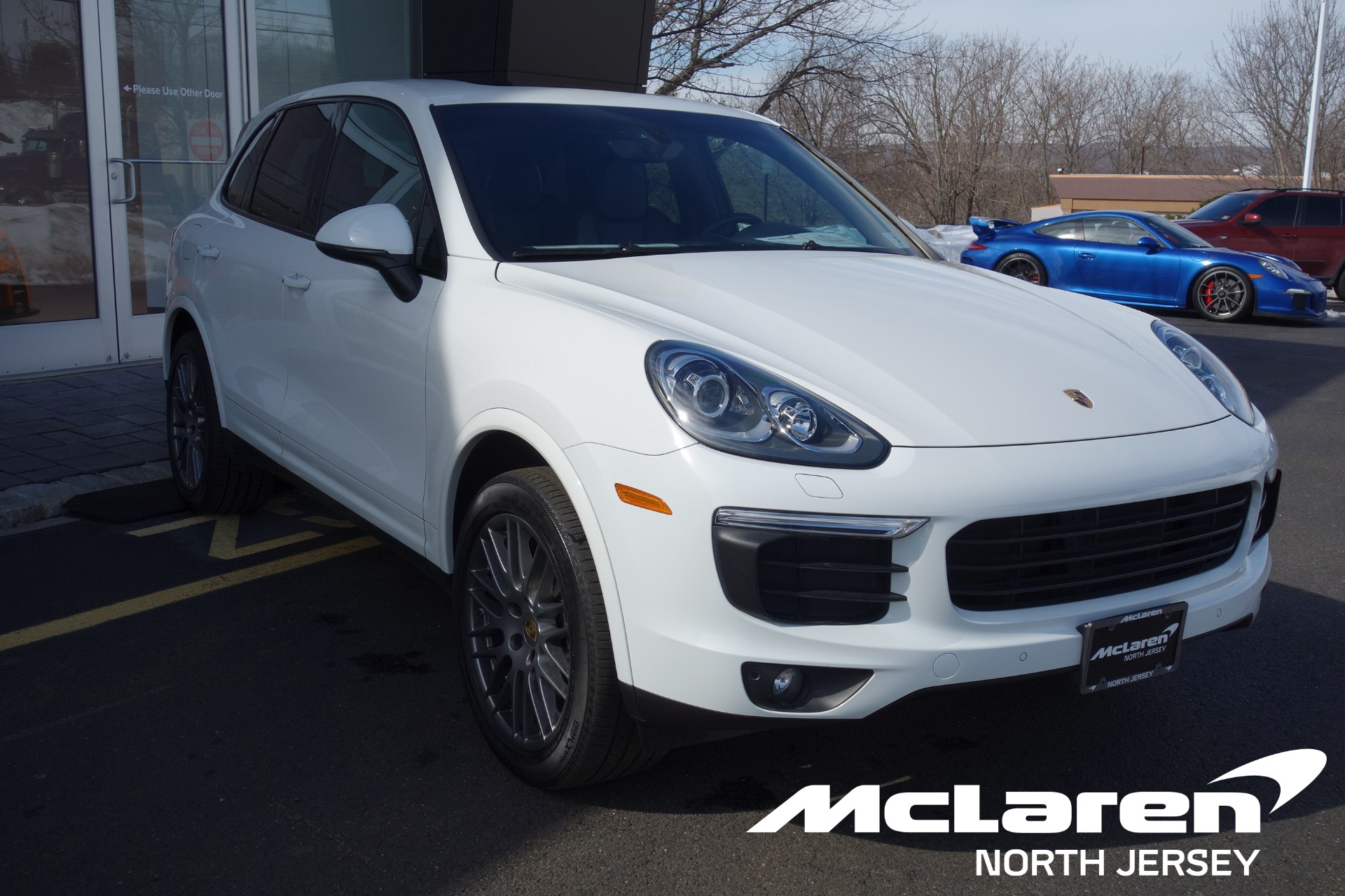 Used 2017 Porsche Cayenne Platinum Edition for sale $47,000 at McLaren North Jersey in Ramsey NJ 07446 1