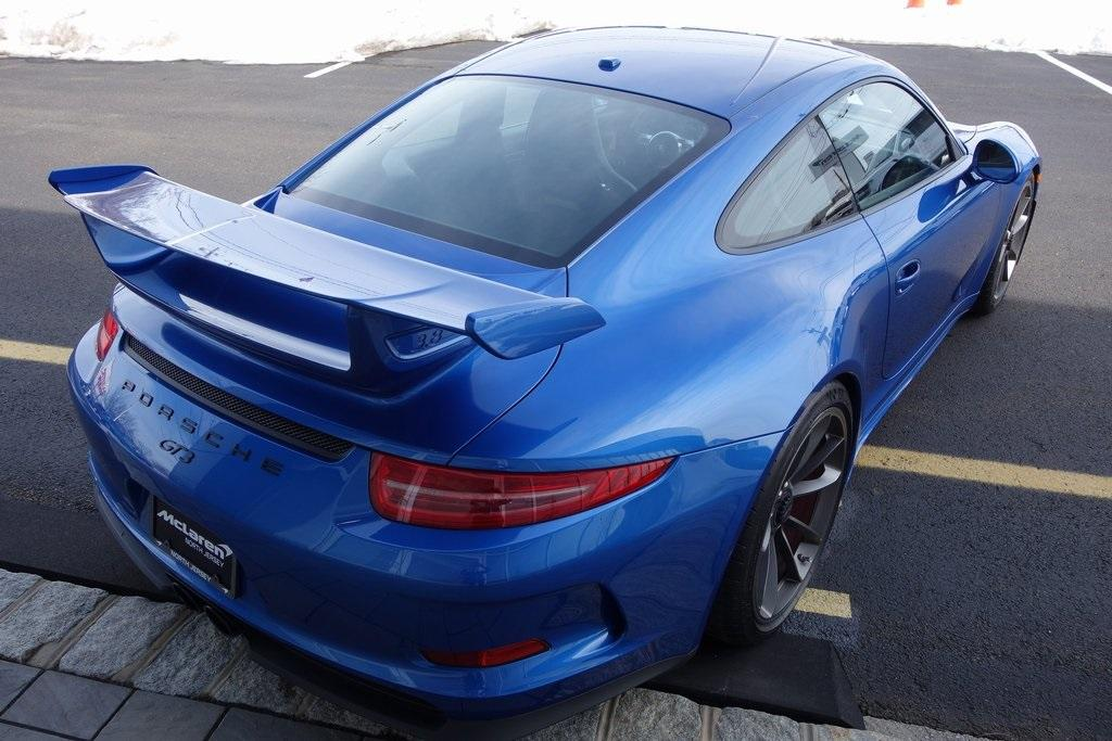 Used 2016 Porsche 911 GT3 for sale $130,000 at McLaren North Jersey in Ramsey NJ 07446 7