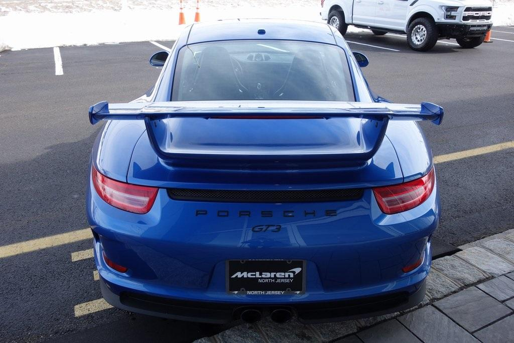 Used 2016 Porsche 911 GT3 for sale $130,000 at McLaren North Jersey in Ramsey NJ 07446 8